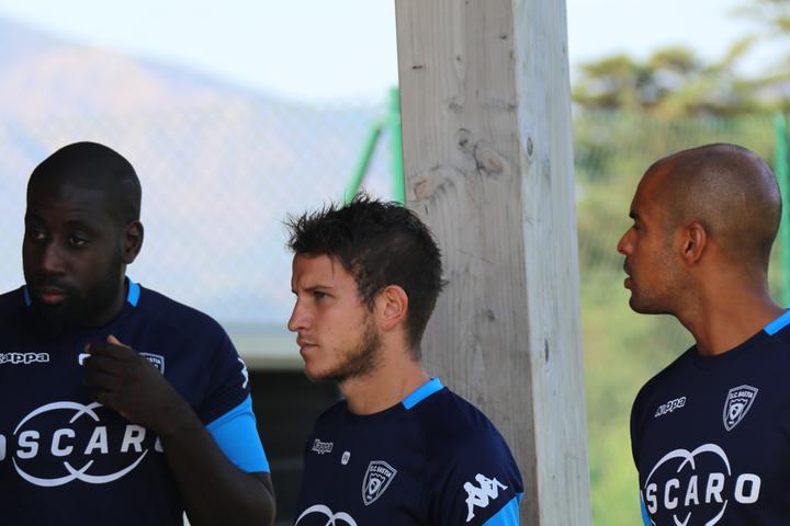 National 3 - Entrée du SC Bastia le 10 septembre
